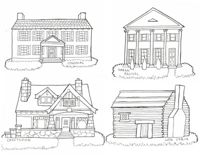 Preview of Free Printable American Paper Town