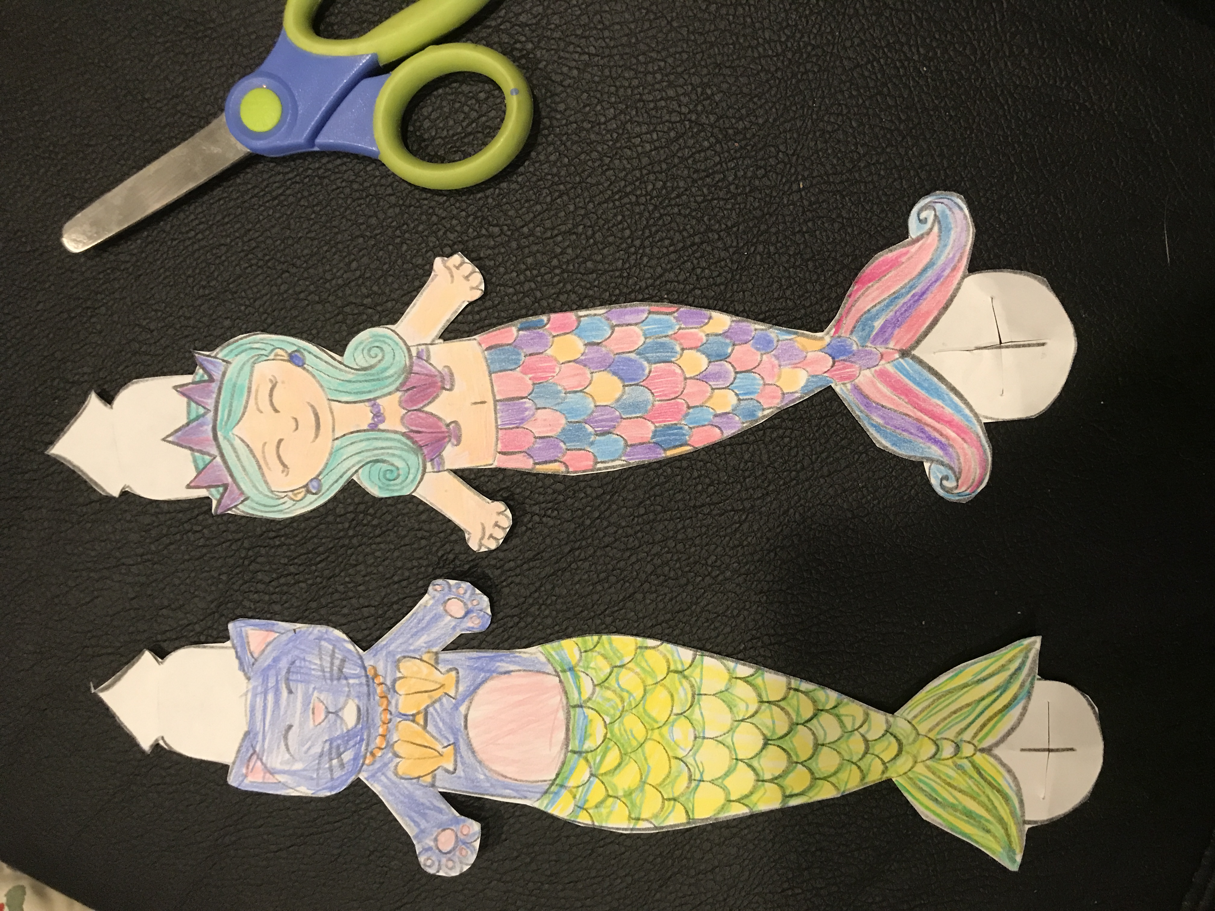 Mermaid and MerKitten bracelet craft