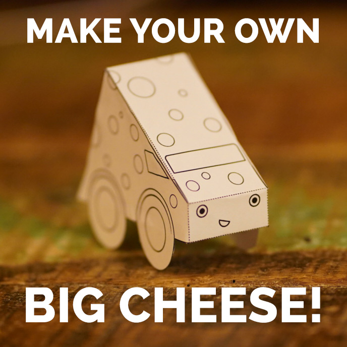 Big Cheese model car by the amazing Doug Cenko!