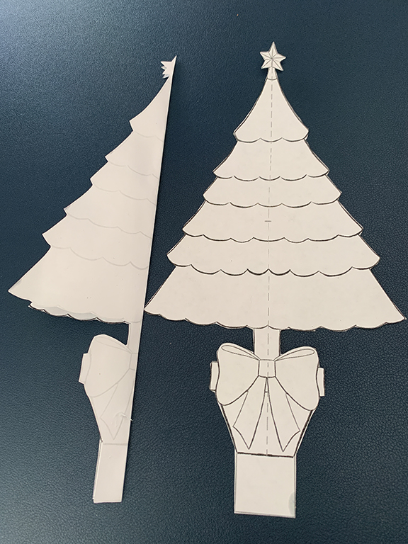 Step One Free Printable 3D Christmas Tree