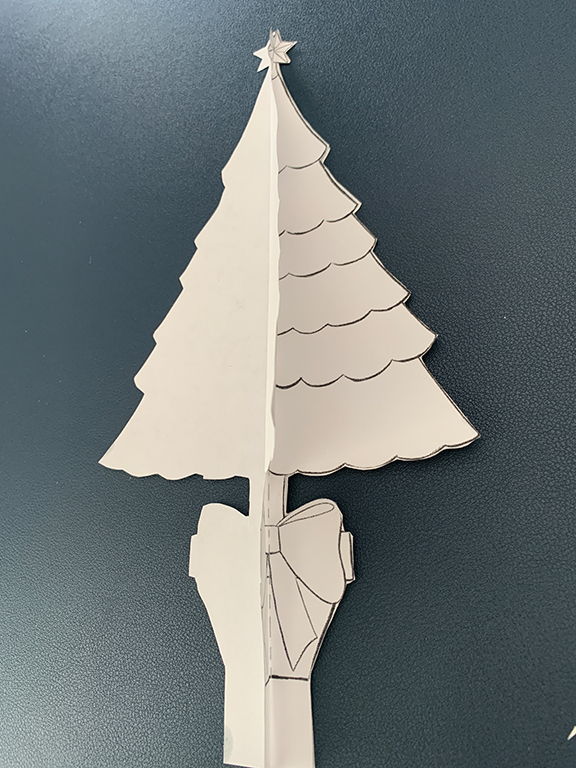 Step Two Free Printable 3D Christmas Tree
